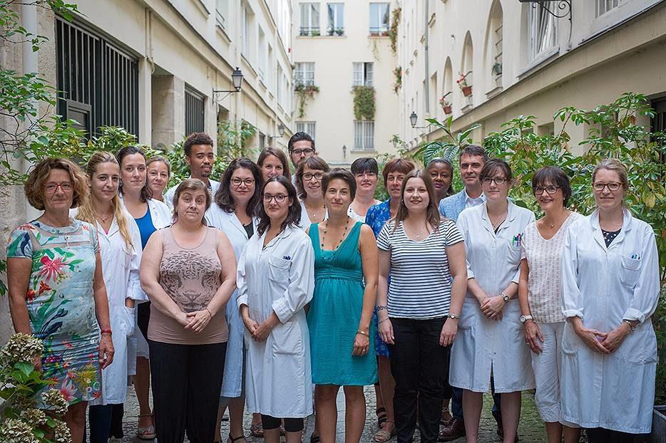 Equipe du Centre de Pathologie Cutanée